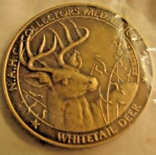 NAHC WHITETAIL DEER Medallion.  Series 01.  New in Plastic.