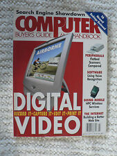 Computer Buyers Guide and Handbook 2000 July - used Excellent Condition