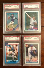 4 DIFFERENT Greg Maddux O-Pee-Chee 1988, 1989, 1990 & 1991 ALL PSA 10