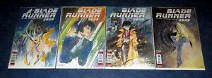 BLADE RUNNER 2029 #1 2 3 4 1st print PEACH MOMOKO variant set TITAN COMICS 2021