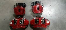 17-19 ALFA ROMEO GIULIA 2.0L FRONT/REAR BRAKE CALIPERS SET OEM