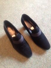 Ladies Black Suede Shoe Size 7