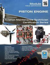 ***DIGITAL BOOK***EASA Part-66 Module M16 - Piston Engine