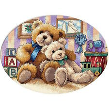 Dimensions 6955 Gold Petite Warm & Fuzzy Counted Cross Stitch Kit