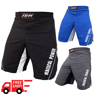 MMA Kick Boxing Grappling Short Fight Martial Arts Muay Thai UFC Cage Shorts New