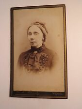 Wesel - Frau - Portrait / CDV