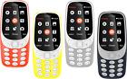 Nokia 3310 NUEVO 2017 Dual SIM 2mp Cámara Libre Sim Liberada Pristine Condición