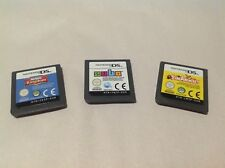 Lot (3) My Sims Kingdom Animal Zubo Nintendo DS DSi 3DS 2DS Game Cartridge Only