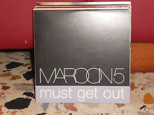 MAROON 5 - MUST GET OUT - cd cardsleave PROMOZIONALE 2005