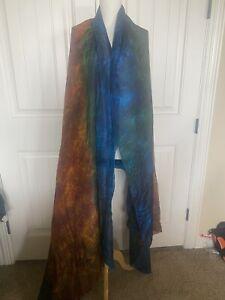 Belly Dance Silk Veil Multi Color