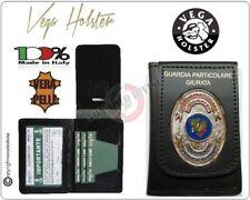 Portafoglio Portadocumenti con Placca GPG IPS Guardia Particolare Giurata 1WD148