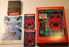 TRON MAZE-a-Tron-Intellivision Mattel (1982) basato sul QUADRO WALT DISNEY