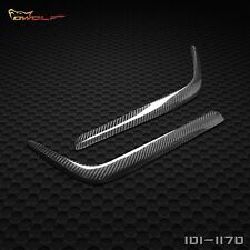 100% Real Carbon Fiber Headlamp Cover Eyelids Eyebrows for Benz W202 C280 SEDAN