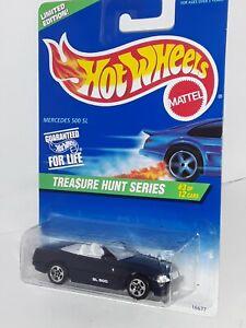 H.W. T.H. 1997 ( Mercedes 500 SL ) # 3 of 12 , Black , Mint On Card .