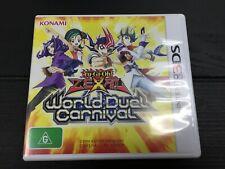 Yugioh Zexal World Duel Carnival   Nintendo 3DS PAL Aus   Very Good Condition
