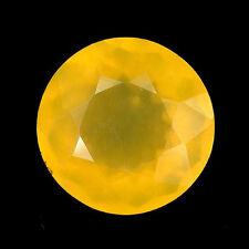 24.13 ct. RAR!! Riesiger runder Gelber 20.3 mm  Feueropal aus Mexiko