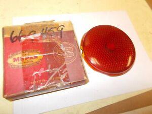 Mopar NOS Tail Lamp Lens 37-38 Plymouth, Dodge, DeSoto