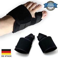 2er Hallux Valgus Schiene Korrektur bandage Hilfe bei Schmerzlinderung Unisex DE
