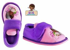 Official Disney Doc McStuffins Girls Slippers Pink/Purple UK Size: 9 New Tagged