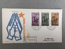 Vatican FDC Nativita 1966 - Christmas - Vatican stamps