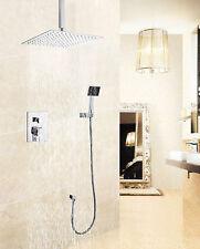 New Ceiling Rain Fall Shower System (10'' SS Shower Head, Hand Shower,& Valve )