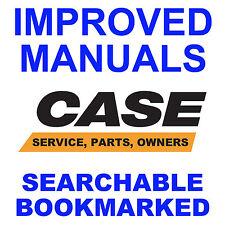 Case 580E Super E 580SE TLB SERVICE OWNERS MANUAL & PARTS CATALOG -5- MANUALS CD