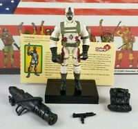 Original 2003 GI JOE DESERT COBRA CLAWS V2 UNBROKEN figure COMPLETE 2 pack