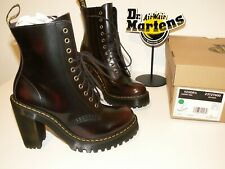 Dr. Martens KENDRA cherry red arcadia leather boots UK 4 EU 37 US 6 (doc93)