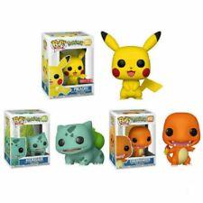FUNKO POP Pokemon Pikachu Bulbasaur Action Figures Collection Kids Toys