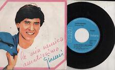 GIANNI MORANDI  disco 45 giri LA MIA NEMICA AMATISSIMA  + Tu o non 1983 Sanremo