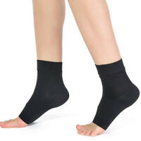 Pair Ankle Support Brace Elastic Compression Wrap Sleeve Sports Relief Pain Foot