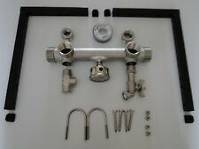 STAINLESS CONSTANT PRESSURE TANK TEE VFD MANIFOLD KIT + WALL BRACKETS GRUNDFOS