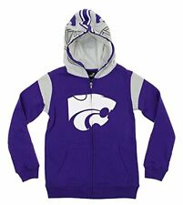 NCAA Youth Kansas State Wildcats Full Zip Fleece Helmet Hoodie