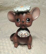 Adorable Sweet Vintage Josef Originals Bride Mouse Original Sticker Japan