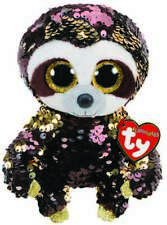 45325d2b0c4 TY FLIPPABLES BEANIE BABIES BOOS DANGLER SLOTH PLUSH SOFT TOY NEW WITH TAG
