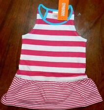 Dress Set Gymboree Pink Striped Summer Girl Baby sz 6-12 month New