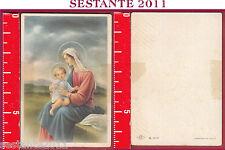 1386  SANTINO HOLY CARD MADONNA CON GESù BAMBINO NB 6 - 015