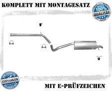 Auspuff SEAT IBIZA IV 1.2 TSI Kombi Schrägheck Coupe Ab 2010 Auspuffanlage 1F8