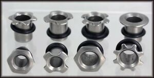 Steel Tubes / Tunnels / Plugs  Ear Stretchers