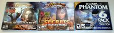 NEW 3 Hidden Object PC Games: moonlight, Ancient World 2, Legends of the Phantom