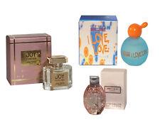 Women Miniature Mini Perfume Travel x3 Jimmy Choo Moschino I Love Jean Patou Joy