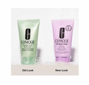 Clinique Foaming Sonic Facial Soap 5 oz. / 150 ml New release sealed