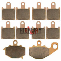 Front and Rear Brake Pads for For KAWASAKI ZX6R (ZX 600 P/R) 2007-2014