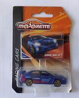 Majorette SUBARU WRX STI Blue diecast model car Racing cars series