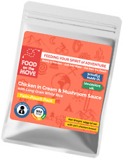 Food Supplies: Lightweight Dehydrated Pouched Meal - Chicken in Cream & Mushroom