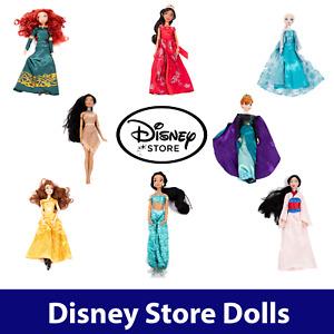 Genuine Disney Store Princess Dolls - PICK YOUR FIGURE - Original Official