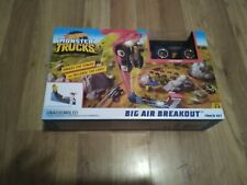 Hot Wheels Monster Trucks Big Air Breakout Track Set.