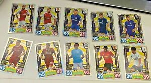 2017/18 Topps Match Attax Man of the Match Choose your Cards Multibuy