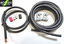 Top Post Battery Relocation Kit 15' & 3' 2 Gauge 100% Sgt Copper Cables