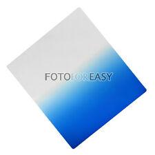 Square Graduatal Blue Color Filter for Cokin P Series